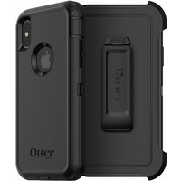 OtterBox Defender Carrying Case with Holster for iPhone X, Black