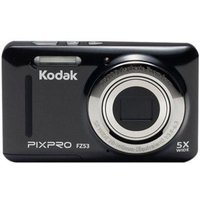 Kodak PIXPRO Friendly Zoom FZ53 - Digital camera - compact - 16.15 MP - 720p / 30 fps - 5x optical zoom - Black