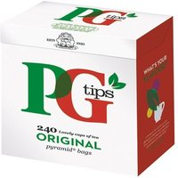 Image of PG Tips Pyramid Tea Bags (Pack of 240) 22322301