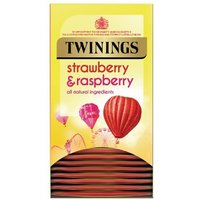 Twinings Strawberry and Raspberry (Pack of 20) F14377