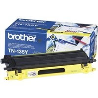 *BROTHER TN-135Y YELLOW TONER CARTRIDGE (4 000 A4 PAGES @ 5% COVERAGE)