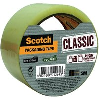Scotch Classic Packaging Tape 50mmx50m Clear CL.5050.S.T