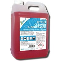 2Work Citrus Cleaner and Degreaser 5 Litre 2W06354