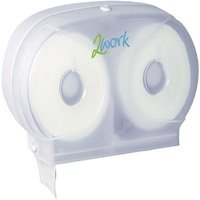 Image of 2work Twin Toilet Roll System Dispenser