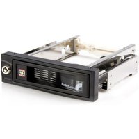 StarTech.com 5.25in Trayless Hot Swap Mobile Rack for 3.5in Hard Drive - Internal SATA Backplane Enclosure