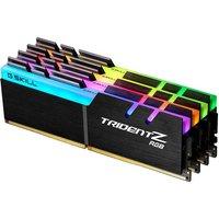 G.SKILL TridentZ RGB Series 32GB (4 x 8GB) 288-Pin DDR4 2400 Memory sale image