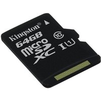 Kingston Canvas Select 64GB Micro SD Card Only