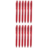Pentel EnerGel X Liquid Gel Red Pen (Pack of 12)