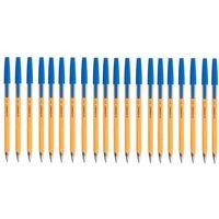 Q-Connect Fine Blue Ballpoint Pen (Pack of 20) KF34047