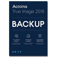 Acronis True Image 2018 5 Computers - Electronic Software Download