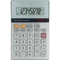 Sharp Silver 8-Digit Semi-Desktop Calculator
