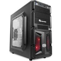 PC Specialist Vanquish Sidewinder NVIDIA GTX 1050 2GB Gaming PC, AMD Quad Core FX 4300 3.8GHz, 8GB RAM, 1TB HDD, Windows 10 Home