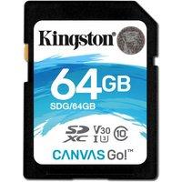 Kingston Canvas Go 64GB SD Card