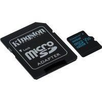 Kingston Canvas Go 32GB Micro SD Card with Adapter
