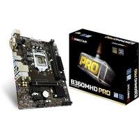BioStar B360MHD PRO Ver. 6.x LGA 1151 DDR4 mATX Motherboard
