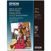Epson Glossy Photo Paper -  A4 - 20 Sheets