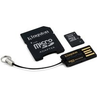 Kingston 16GB microSDHC with USB Reader