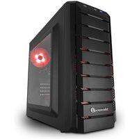 PC Specialist Vanquish Striker III Gaming PC, AMD Ryzen 5 1600 Six Core 3.2GHz, 8GB DDR4, 1TB HDD, 120GB SSD, NVIDIA GTX 1060 6GB, WIFI, Windows 10 Home