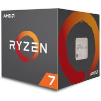 AMD Ryzen 7  2700 AM4 Processor with LED Wraith Spire Cooler
