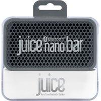 Juice Nano Bar Bluetooth Speaker Charcoal