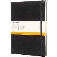 Moleskine Notebook Hard Cover Ruled Extra Large Black