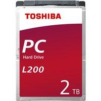 """Toshiba L200 2.5"""" 2TB SATA Internal HDD"""