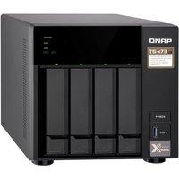 QNAP TS-473-4G 4 Bay Desktop NAS Enclosure with 4GB RAM