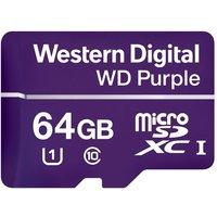 WD Purple microSD Card 64GB