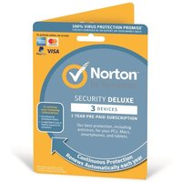 Norton Security Deluxe 3.0 1 User 3 Device 12 Months Subscription