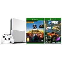 Xbox One S 1TB with Rocket League + PUBG