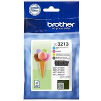 Brother LC3213 Value Pack K/C/M/Y Ink Cartridges