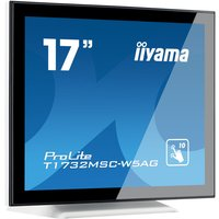 "Iiyama ProLite T1732MSC-W5AG 17"" 10pt Touchscreen Monitor White"