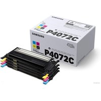Samsung	CLT-P4072C Multi-pack Black, Rainbow Original Toner Cartridge - Standard Yield 1000/1500 Pages - SU382A