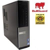 REFURBISHED Dell Optiplex 990 SFF Desktop PC, Intel Core i7-2600 3.4GHz, 8GB RAM, 250GB HDD, DVDROM, Windows 10 Pro