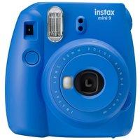 Fujifilm Instax Mini 9 Cobalt Blue Instant Camera inc 10 Shots
