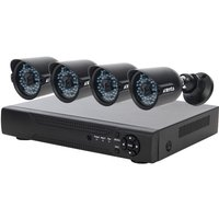 'Cctv System - 8 Channel Full Hd Dvr With 4x Full Hd Black Bullet Cameras