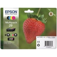 Epson Multipack 4 Colours 29 EasyMail Ink Cartridges
