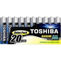 TOSHIBA 20 Pack AAA Batteries