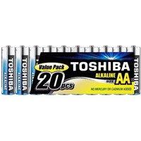 TOSHIBA 20 Pack AA Batteries