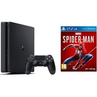 Sony 1TB Black PS4 with Marvel's Spiderman