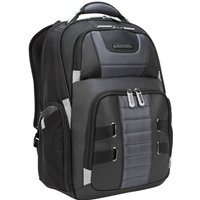 """Targus DrifterTrek 15.6-17.3"""" Laptop Backpack with USB Power Pass-Thru - Black"""