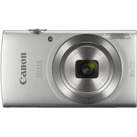 Canon IXUS 185 Silver Camera + CP1300 White Printer  KP-36IP Paper   Lens Cloth