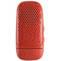 'Polk Boom Bit Clip-on Bluetooth Speaker - Lava Red