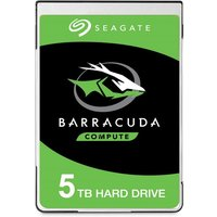 Seagate BarraCuda 5TB Laptop Hard Drive 2.5andquot; 15mm SATA III 6GBs 5400RPM 128MB Cache