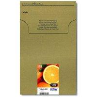 Image of Epson Ink/33 Premium Oranges Ink Cartridge MultiPack Black, Cyan, Magenta, Yellow