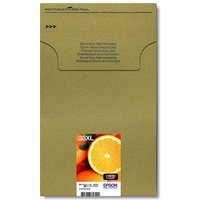 Image of Epson Ink/33XL Premium Oranges Ink Cartridge MultiPack Black, Cyan, Magenta, Yellow