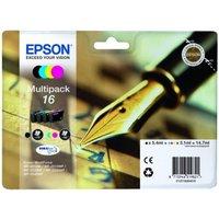 Image of Epson Ink/16 WorkForce Cartridge, Cyan, Magenta, Yellow, Black - C13T16264022