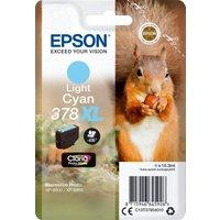 Image of Epson 378XL Light Cyan Photo HD Inkjet Cartridge