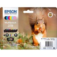 Image of Epson 378 Photo HD Inkjet Cartridge (Pack of 6)