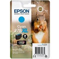 Image of Epson 378XL Cyan Photo HD Inkjet Cartridge